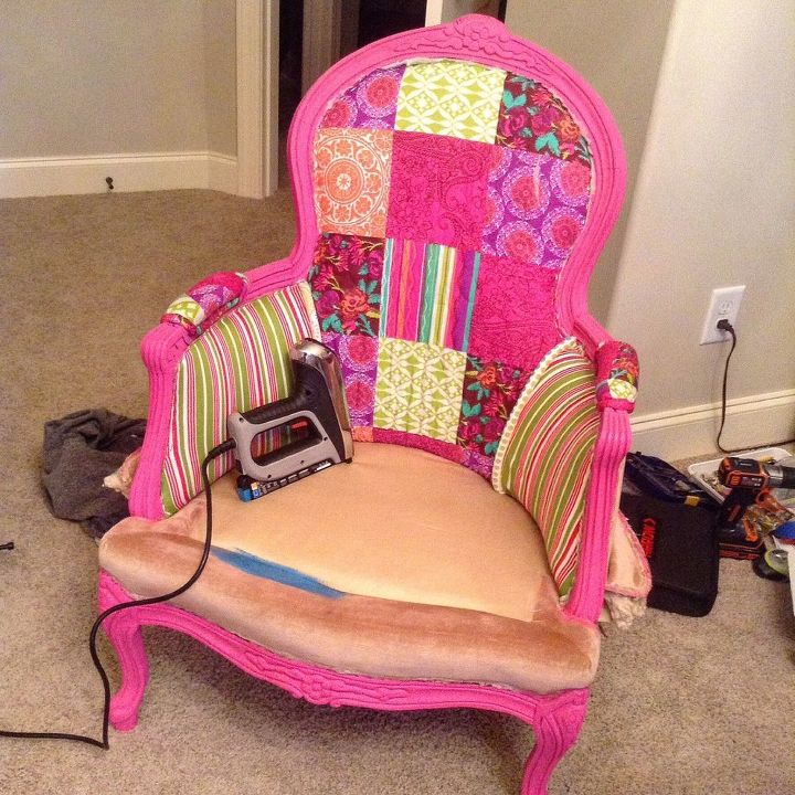 DIY Upholstery Chair.....First Time | Hometalk