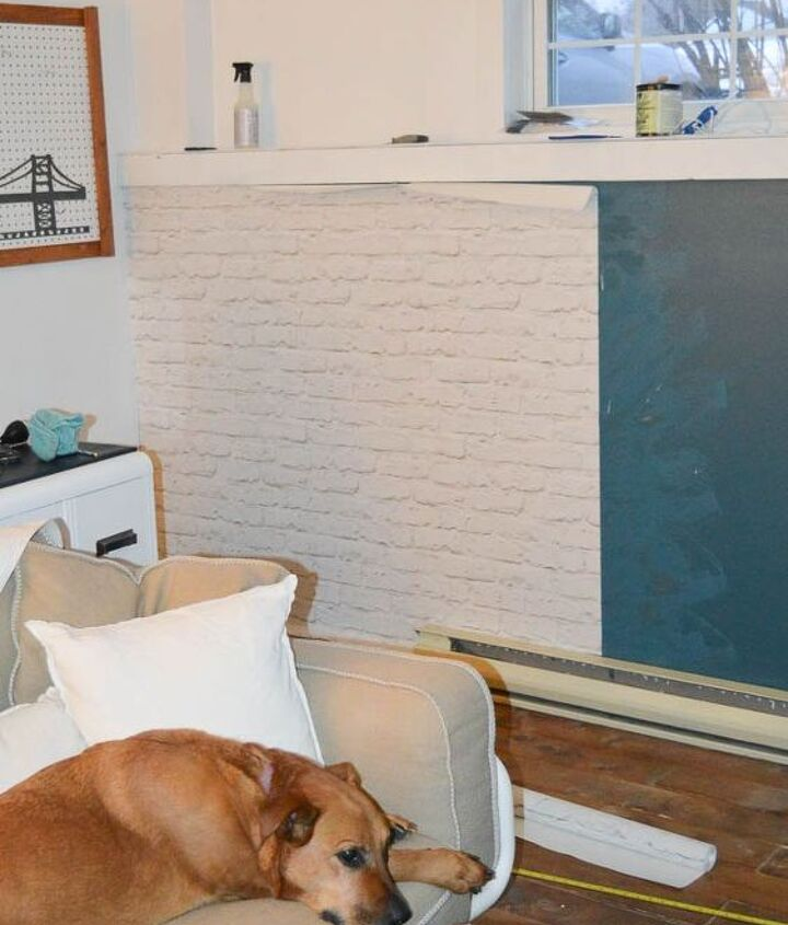 how to brick a wall in one day, how to, wall decor