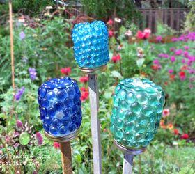 Craft Garden Ideas Part - 37: Craft Treasure Jars For Your Spring Garden