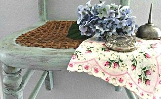 repurposed vintage kiddie chair to wall shelf, chalk paint, painted furniture, repurposing upcycling, shelving ideas