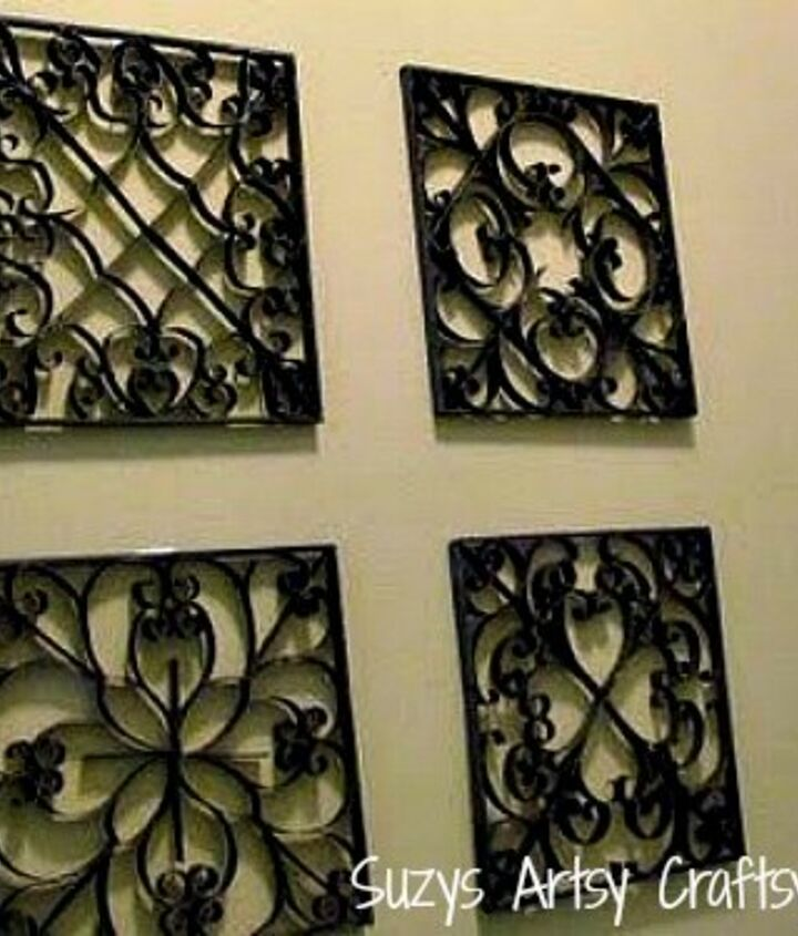 wall art made from recycled tp tubes, crafts, how to, repurposing upcycling, wall decor