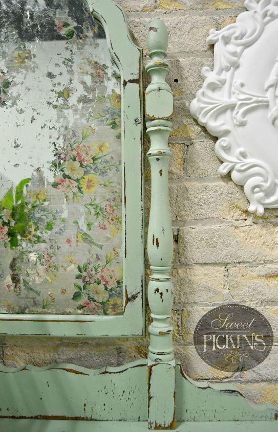 Floral Acid Mirror By Sweet Pickins Hometalk