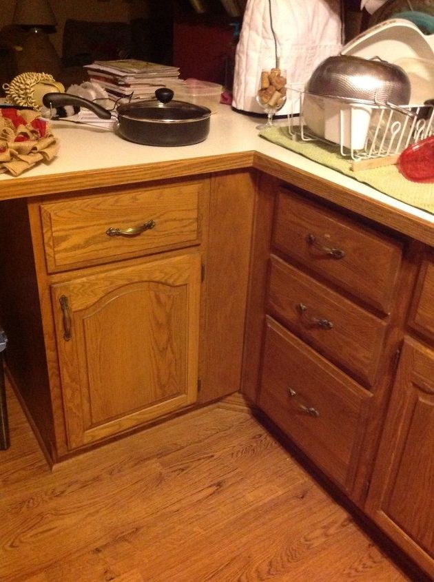 Need Ideas For Making My Kitchen Cabinet Under Peninsula Accessible