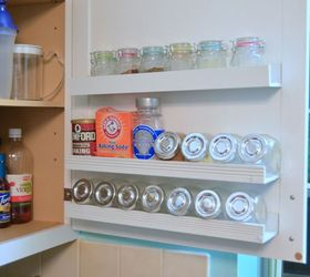 DIY Inside Cabinet Door Storage Shelves | Hometalk