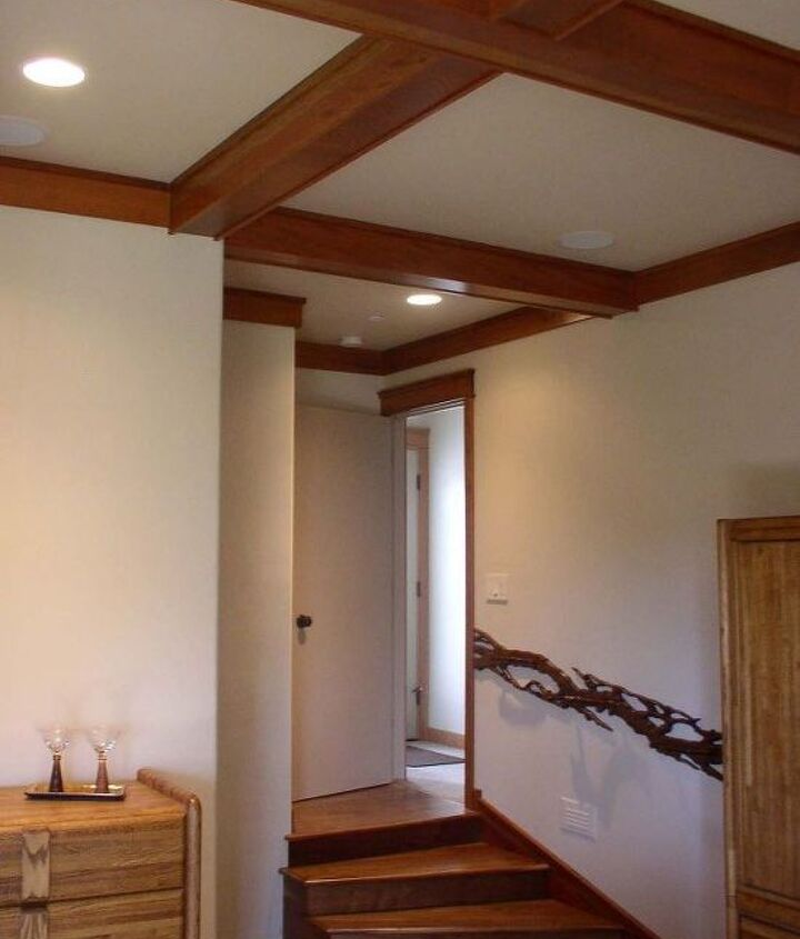 Entry to a Craftsman Styled Master Bedroom