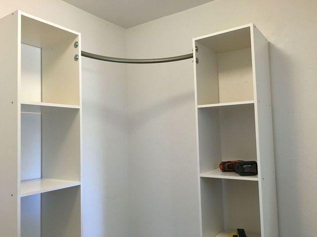 Corner Closet Diy Organizing Shelving Ideas Storage