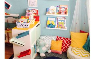 dr seuss inspired playroom, diy, entertainment rec rooms, home decor, painting