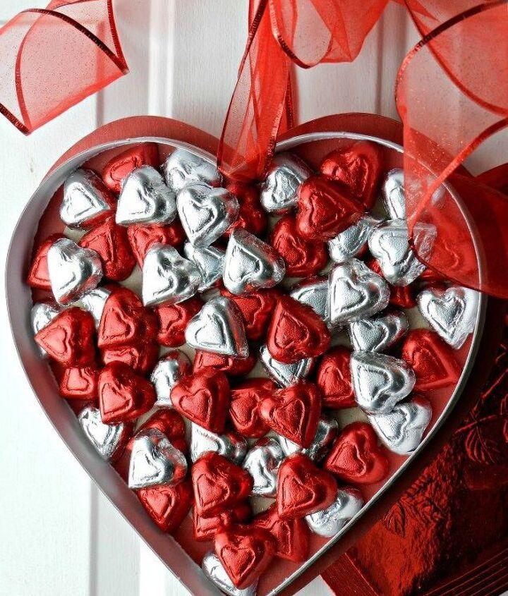 valentine s day chocolate wall candy, seasonal holiday decor, valentines day ideas, wall decor