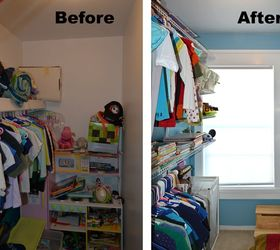 Wonderful Kid S Closet Remodel Reveal, Closet, Home Improvement, Organizing, Shelving  Ideas,