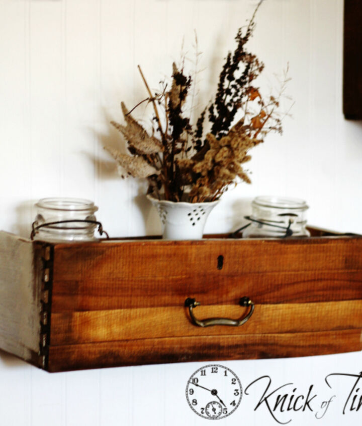 wall art dresser drawer shelf storage repurposed rustic, home decor, repurposing upcycling, storage ideas