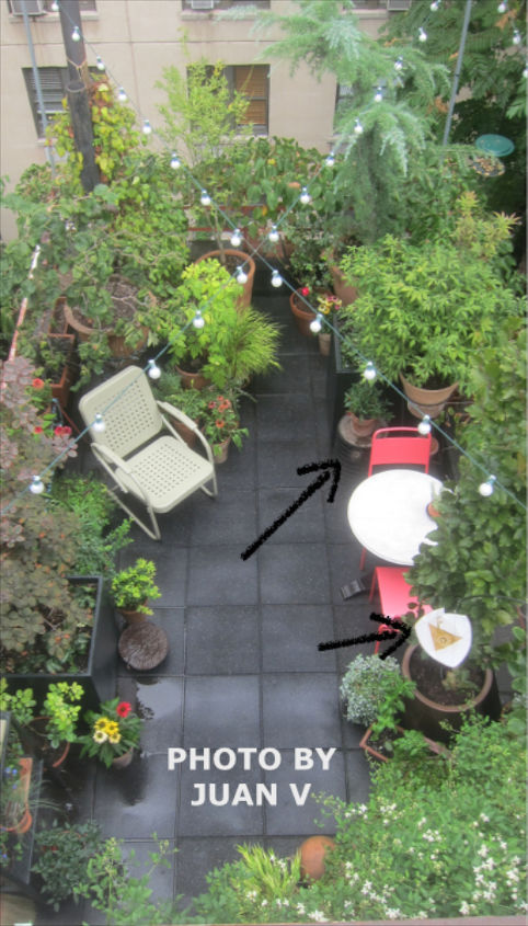 backyard ideas garden entertaining people, container gardening, gardening, outdoor living, repurposing upcycling