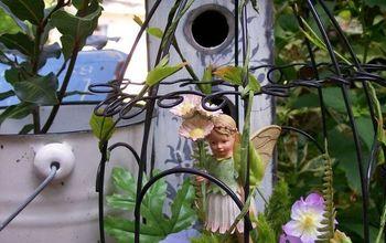little fairy garden, crafts, flowers, gardening, Little fairy garden by Barb See more fairies afoot at or visit my website
