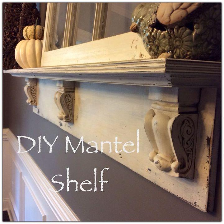 Diy Mantel Shelf Fireplaces Mantels Home Decor Shelving Ideas