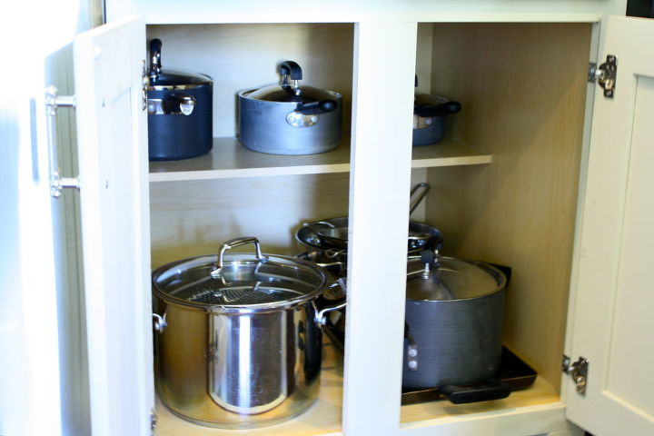 Making a kitchen cabinet more functional... | Hometalk