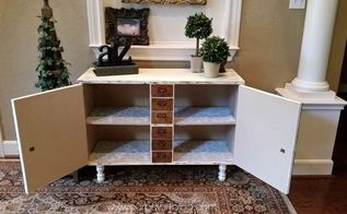 diy knockoff card catalog with a surprise, diy, how to, painted furniture, repurposing upcycling, storage ideas