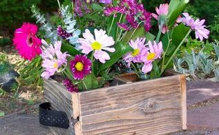 reclaimed wood gift crates, crafts, repurposing upcycling, First gift crate