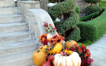 fall front porch decorations 2012, curb appeal, outdoor living, porches, seasonal holiday decor