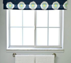 Window Treatment Faux Roman Shade, Bathroom Ideas, Home Decor, Window  Treatments, Windows
