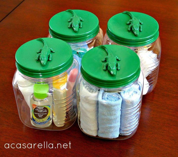 decorative jars, crafts