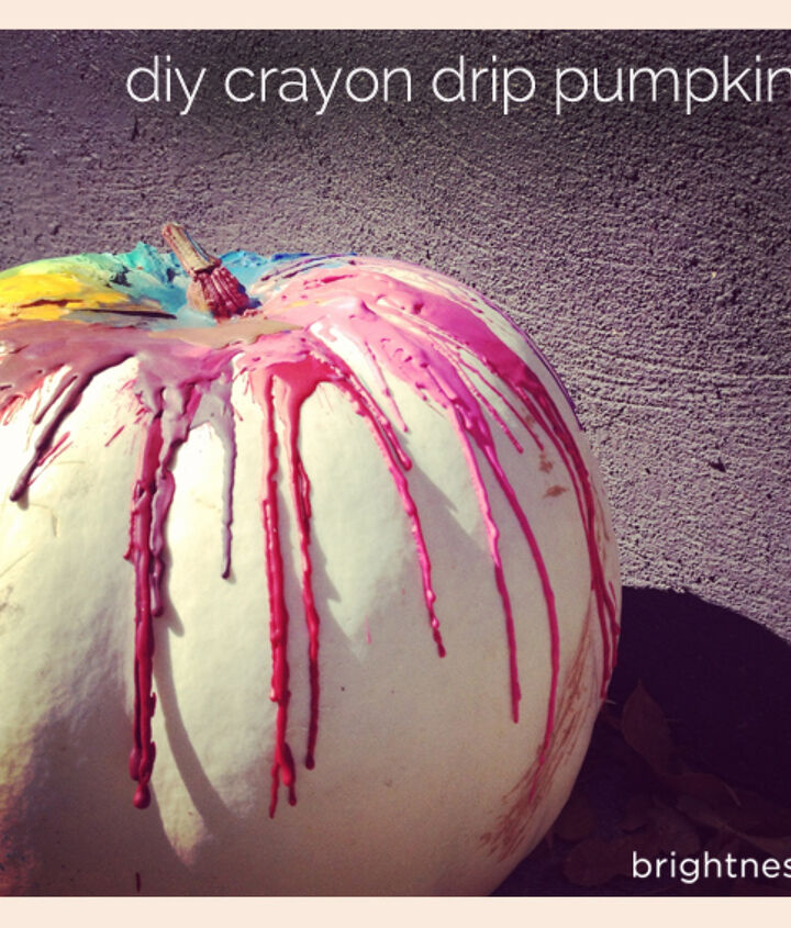 decorate your pumpkin with crayons, crafts, halloween decorations