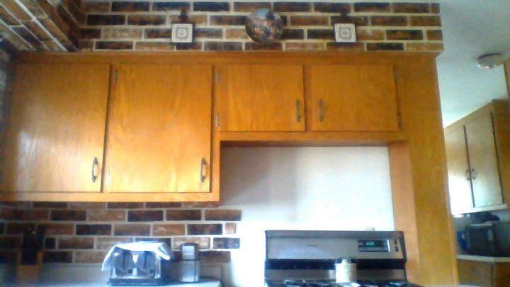 Painting Brick Wall In Kitchen Hometalk