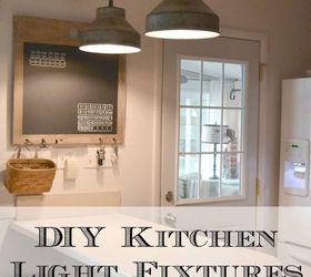 Diy Kitchen Light Fixtures, Diy, Kitchen Design, Lighting