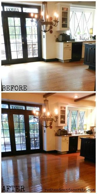 No Sanding No Mess Non Toxic Hard Wood Floor Refinishing Hometalk