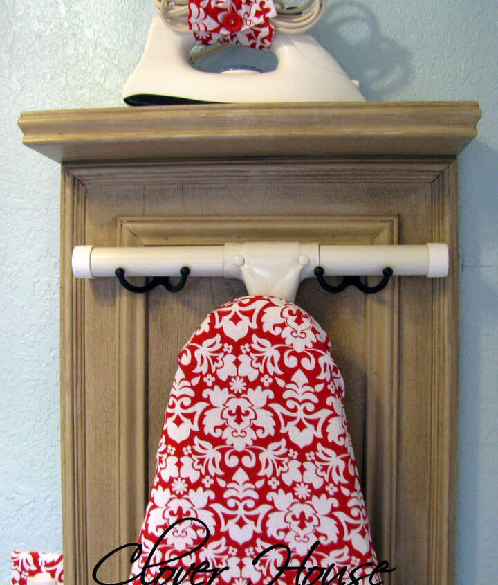Isn't my new ironing board cover lovely? Visit my blog to see where I got it!