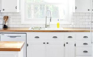 kitchen design redo farmhouse cottage, diy, kitchen design