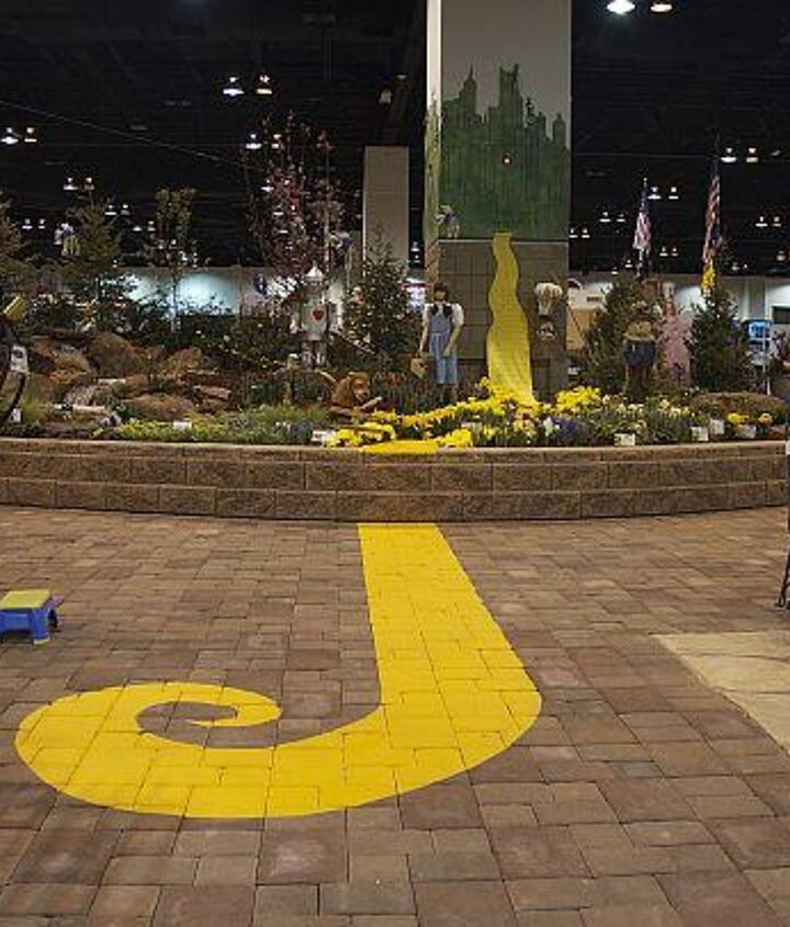Follow the Yellow Brick Road right into our garden and to the Enchanted Land of Oz