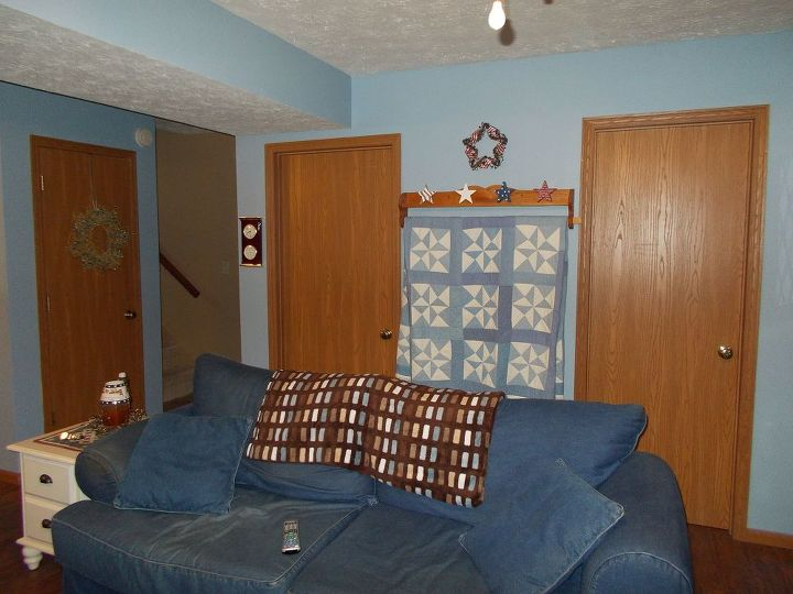 doors before floors, doors, flooring, home maintenance repairs, old luan doors