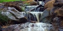 pondless waterfalls in kentucky, outdoor living, ponds water features, Pondless Waterfall
