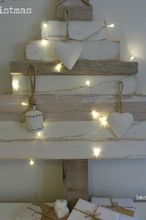 rustic recycled christmas tree, christmas decorations, crafts, seasonal holiday decor, rustic recycled christmas