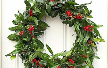 Making a Fresh Evergreen Wreath