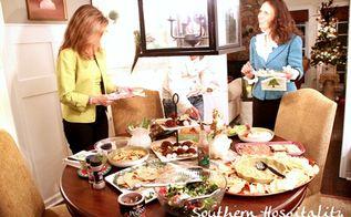 hometalk christmas party, crafts, seasonal holiday decor