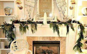 My Peace On Earth Christmas Mantel