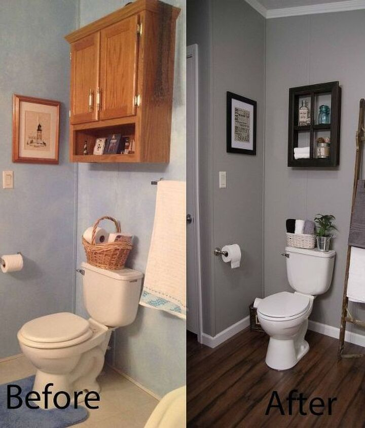 bathroom before and afters, bathroom ideas, diy, home decor