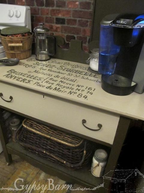 Coffee Stations from Re-Purposed Dressers | Hometalk on