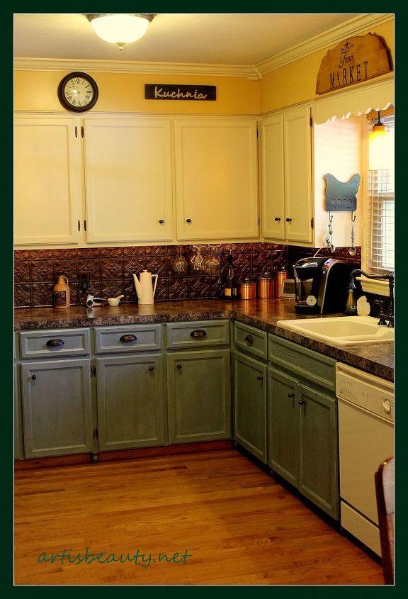 art is beauty kitchen makeover, home decor, kitchen design