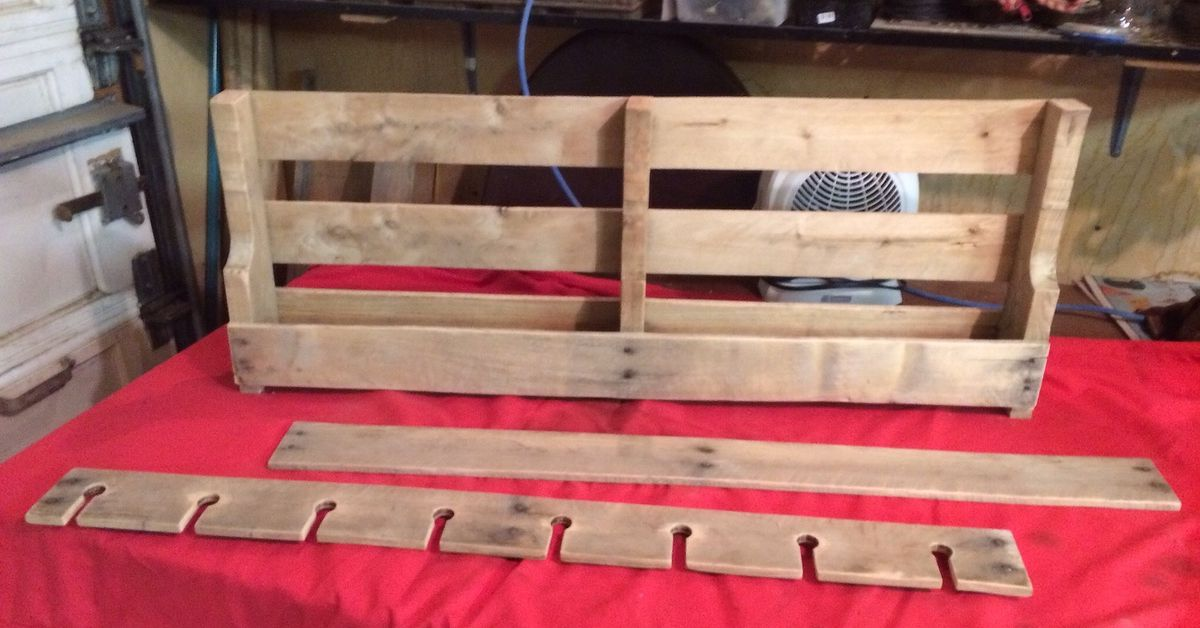 How To Make A Pallet Wine Rack Hometalk