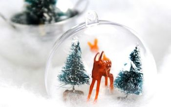 DIY Whimsical Woodland Ornaments