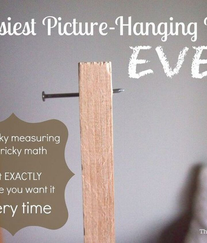 easiest tool ever for hanging art, tools