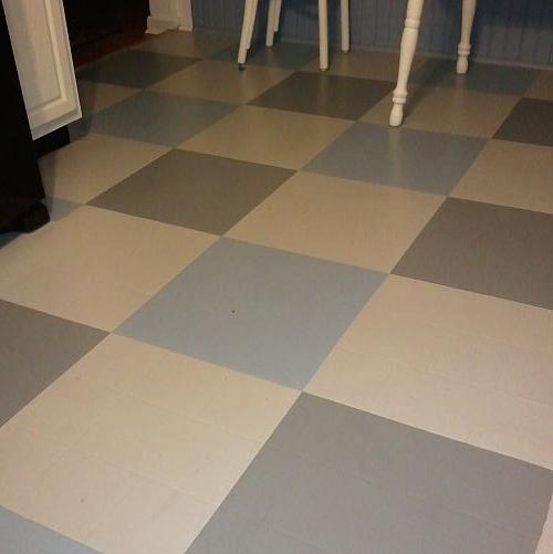Can i paint over vinyl flooring thefloors co for Can you paint over vinyl flooring
