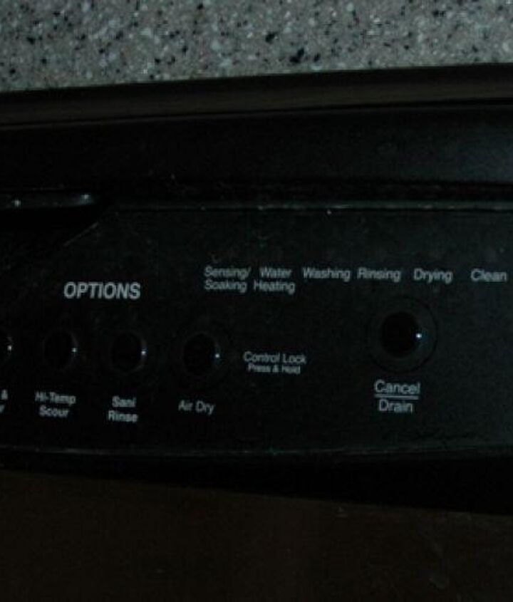 Whirlpool Gold control panel