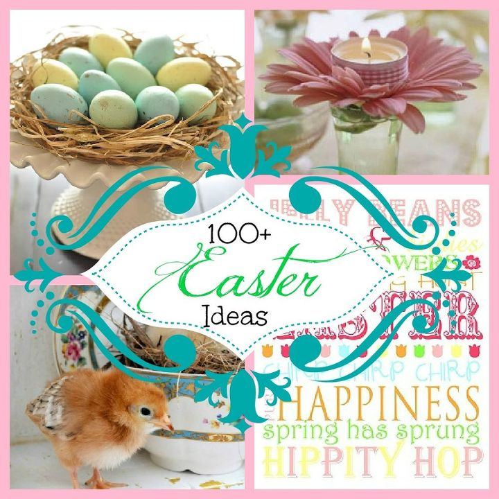easter is on its way, crafts, flowers