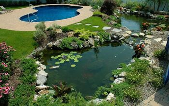 if one pond is good are 2 ponds better, ponds water features, pool designs, spas, Lower pond and poo in the background This pond project won an International award from the Association of Pool and Spa Professionals APSP Silver medal for waterfeatures