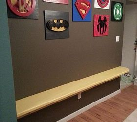 My Son Loves Superheroes Decorating The Playroom Entertainment Rec Rooms Home  Decor Added