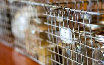 DIY Vintage Locker Baskets