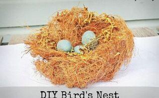 diy spring bird s nest, seasonal holiday d cor