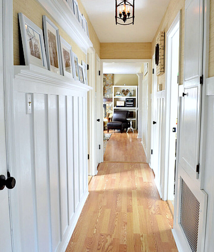 board batten and beauty on a budget cottage charm hallway reveal, foyer, wall decor, woodworking projects
